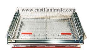 Cusca pentru prepelite ouatoare 50 pasari 90x50x25 cm - imagine 1
