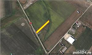 Teren 3250 mp cu deschidere 21 m la Varianta Ovidiu, cu PUZ - imagine 2