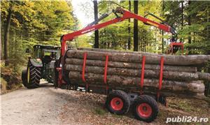 Remorca forestiera Krpan  - imagine 7