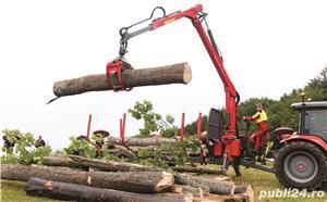 Remorca forestiera Krpan  - imagine 9