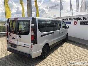 Opel Vivaro 8+1 locuri   L2H1   1.6D   AC Fata+Spate   Senzori Parcare   Tempomat   Bluetooth   2017 - imagine 4