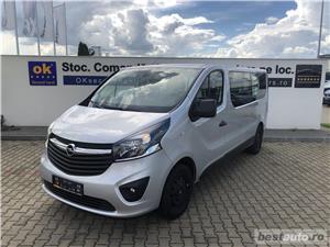 Opel Vivaro 8+1 locuri   L2H1   1.6D   AC Fata+Spate   Senzori Parcare   Tempomat   Bluetooth   2017 - imagine 2