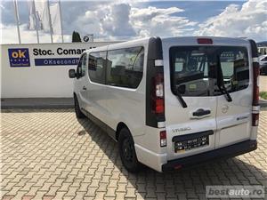 Opel Vivaro 8+1 locuri   L2H1   1.6D   AC Fata+Spate   Senzori Parcare   Tempomat   Bluetooth   2017 - imagine 3