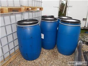 Butoi plastic, 200 litri la Oradea, 100Lei, cu capac mare - imagine 1