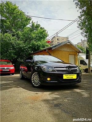 Opel Astra g bertone coupe cabrio softtop soft top neagra impecabila  - imagine 10