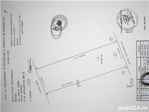 Petricani str. Neagota teren intravilan  314mp,deschidere 10m ,200E/mp - imagine 4