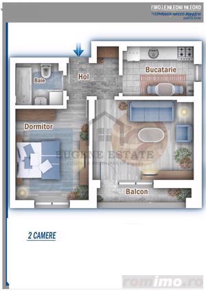 Apartament 2 camere Comision 0% - imagine 3