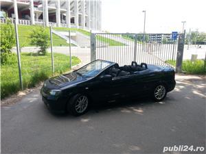 Opel Astra g bertone coupe cabrio softtop soft top neagra impecabila  - imagine 11