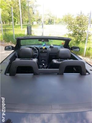 Opel Astra g bertone coupe cabrio softtop soft top neagra impecabila  - imagine 3
