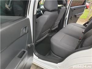 Chevrolet Aveo 1.2 Benzina + GPL 75 Cp Euro 5 An 2011 Alb Perla - imagine 8