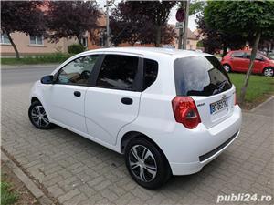 Chevrolet Aveo 1.2 Benzina + GPL 75 Cp Euro 5 An 2011 Alb Perla - imagine 5