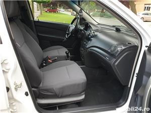 Chevrolet Aveo 1.2 Benzina + GPL 75 Cp Euro 5 An 2011 Alb Perla - imagine 10