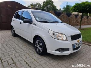 Chevrolet Aveo 1.2 Benzina + GPL 75 Cp Euro 5 An 2011 Alb Perla - imagine 1