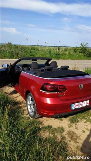 Vw Golf 6 cabriolet - imagine 8