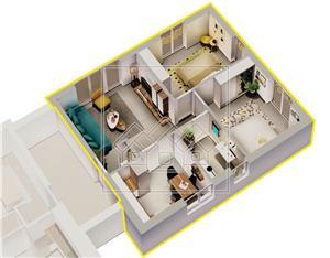 Ap.nou si complet decomandat, etaj intermediar, loc de parcare -Selimbar - imagine 4