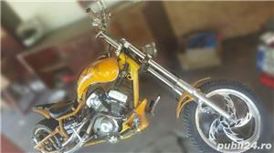 Minibike Hensim chopper - imagine 1