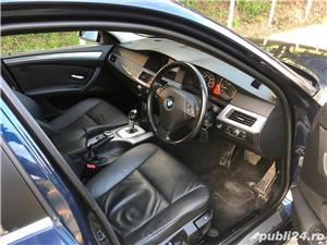 BMW 520d 2008 facelift,177cp,automata joystick,piele - imagine 2