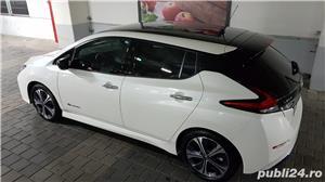 Nissan Leaf Tekna Special, full options, 2019, in garantie - imagine 2