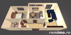 Apartament 2 camere. Balcon mare. Mobilat si utilat - imagine 19