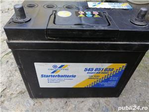 Acumulator Cartechnic 12V/45 A-borne subtiri - imagine 1