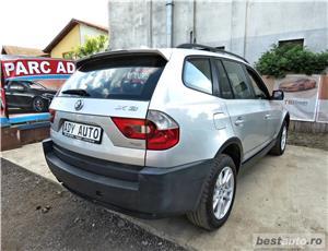 BMW X3 / 2.0 DIESEL -, CASH / RATE FIXE SI EGALE / LIVRARE GRATUITA  / GARANTIE / BUY-BACK - imagine 4
