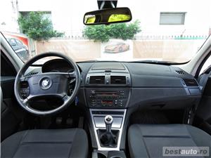 BMW X3 / 2.0 DIESEL -, CASH / RATE FIXE SI EGALE / LIVRARE GRATUITA  / GARANTIE / BUY-BACK - imagine 8
