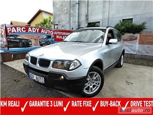 BMW X3 / 2.0 DIESEL -, CASH / RATE FIXE SI EGALE / LIVRARE GRATUITA  / GARANTIE / BUY-BACK - imagine 1
