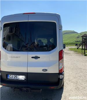 Ford Transit 8+1, 2,0 TDCI, masina inca in Garantie, conditie super, Carte, taxe si revizii la zi    - imagine 3