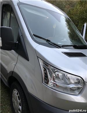 Ford Transit 8+1, 2,0 TDCI, masina inca in Garantie, conditie super, Carte, taxe si revizii la zi    - imagine 2