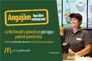 Lucrator restaurant zona Valea Cascadelor sector 6 - imagine 2