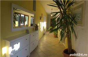 Casa de vânzare Timiș, in stil provençal, 9 km langa timisoara 4 cam + căsuța anexa, teren 1500mp 22 - imagine 11