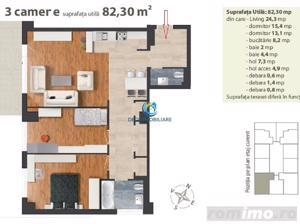 Apartament 3 camere confort lux in Centru, strada Dorobantilor, garaj - imagine 19