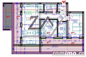Penthouse cu 37 mp terasa. 2 bai. Lift. - imagine 10