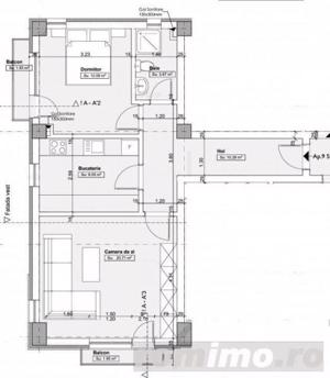 2 Camere - Decomandat -Bloc Nou- Timpuri Noi/ Nerva Traian/ Mall Vitan - imagine 9