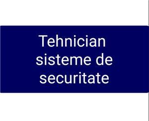TEHNICIAN SISTEME DE SECURITATE - imagine 1