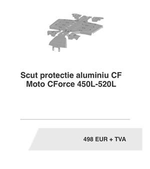 Atv CF MOTO 520L EPS, 5 ANI Garantie, multiple accesorii - imagine 9