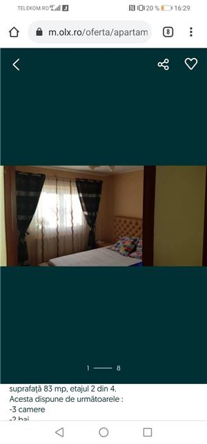 Apartament 3 camere full decomandat - imagine 3