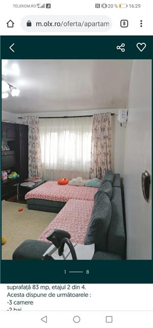 Apartament 3 camere full decomandat - imagine 4