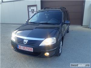 Dacia Logan/MCV/an 2011/1.6 benzina MPI/black line/combi - imagine 3