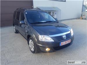 Dacia Logan/MCV/an 2011/1.6 benzina MPI/black line/combi - imagine 6