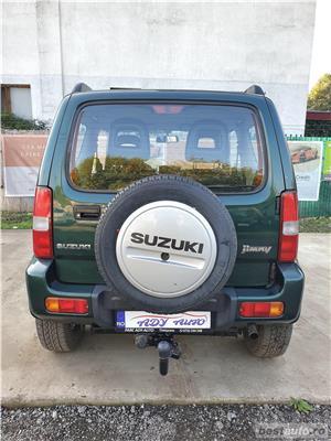 SUZUKI JIMNY / 1.3 BENZINA / 4X4 / RATE FIXE EGALE / GARANTIE INCLUSA / BUY-BACK / TEST-DRIVE - imagine 6