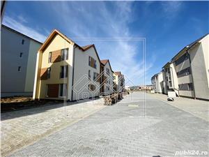 Ap.nou si complet decomandat, etaj intermediar, loc de parcare -Selimbar - imagine 2