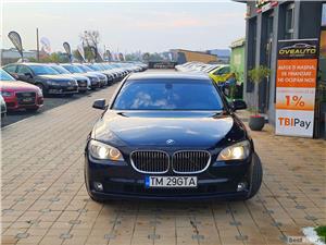 BMW SERIA 730D ~ EURO 5 ~ LIVRARE GRATUITA/Garantie/Finantare/Buy Back - imagine 6