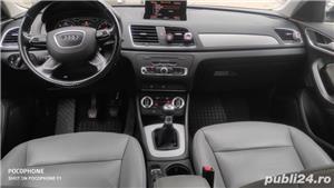 Audi Q3/navi/piele/2.0tdi/143 cp/xenon/led/jante 17/ - imagine 8