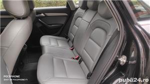 Audi Q3/navi/piele/2.0tdi/143 cp/xenon/led/jante 17/ - imagine 6