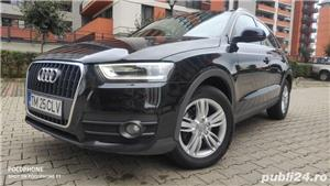 Audi Q3/navi/piele/2.0tdi/143 cp/xenon/led/jante 17/ - imagine 3