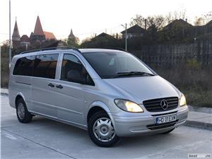Mercedes-Benz Vito*115CDI*extra long*proprietar*9 locuri*clima*af.2008 ! - imagine 2