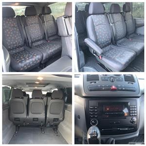 Mercedes-Benz Vito*115CDI*extra long*proprietar*9 locuri*clima*af.2008 ! - imagine 8