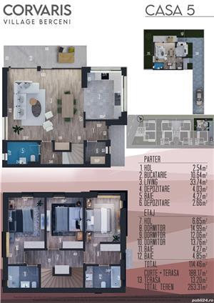 Vila tip duplex 4 camere 114mp, comuna Berceni - imagine 9