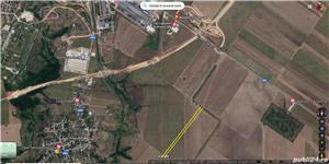 Teren 7500 mp Municipiul Slatina extravilan str Draganesti T38 - imagine 1